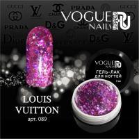 Гель-лак с блестками Louis Vuitton Vogue, 5мл