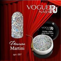 Гель-лак с блестками Фонтан Martini Vogue, 5мл