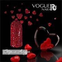 Гель-лак с блестками Стрела Амура Vogue, 10мл