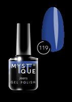 119 Gel Polish #119 «Jeans» MYSTIQUE™, 15 ml