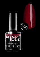 120 Gel Polish #120 «Rouge» MYSTIQUE™, 15 ml