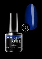 121 Gel Polish #121 «Indigo» MYSTIQUE™, 15 ml