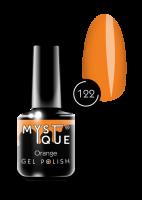 122 Gel Polish #122 «Orange» Mystique™, 15 ml