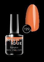 129 Gel Polish #129 «Pumpkin» MYSTIQUE™, 15 мл