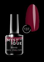 137 Gel Polish #137 «Bloody» MYSTIQUE™, 15 ml