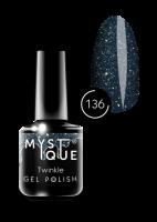 136 Gel Polish #136 «Twinkle» MYSTIQUE™, 15 ml