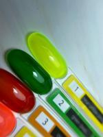 Витражный гель-лак Color Glass 1 Nartist, 10 мл