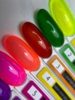 Витражный гель-лак Color Glass 4 Nartist, 10 мл