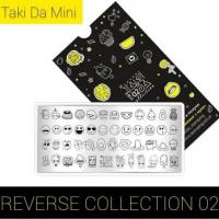 Пластина для стемпинга TAKIDA mini 02 Reverse Collection (без пленки)