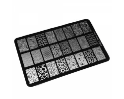 Пластина Lesly 9,5x14,5cm Negative Space 1