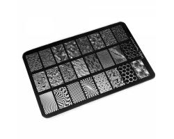 Пластина Lesly 9,5x14,5cm Negative Space 2