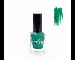 Лак для стемпинга 'Lesly' №54 Emerald Prism ГОЛОГРАФИЯ