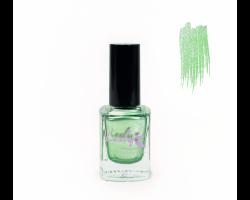Лак для стемпинга 'Lesly' №66 Shimmer Green