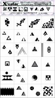 Трафарет Коллекция Геометрия2