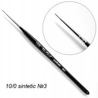 Кисть 3 для дизайна 10/0 Синтетика DS4-10/0RN NeoNail