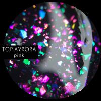 SOTA TOP AVRORA Pink, глянцевый топ с шиммером, 5 мл