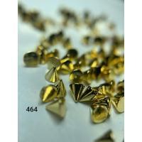 Металлический дизайн Конус 3D, золото, размер S (арт. 464)
