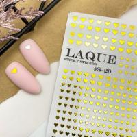 Слайдер дизайн #S-20 GOLD Laque Stikers