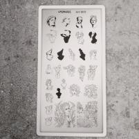 Пластина для стемпинга Art М01 Sunnail