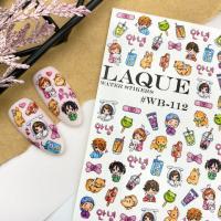 Cлайдер дизайн #WB-112 Laque Stikers