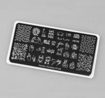 Пластина Swanky Stamping 098