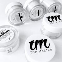 Elastic clear gel (прозрачный гель) TopMaster, 15 мл