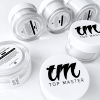 Elastic clear gel (прозрачный гель) TopMaster, 30 мл