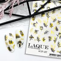 Cлайдер-дизайн #CF-27 gold Laque Stikers