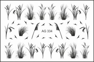 Слайдер-дизайн (имитация аэрографии) AG 334 FreeDecor