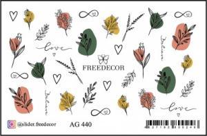 Слайдер-дизайн (имитация аэрографии) AG 440 FreeDecor
