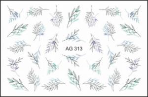 Слайдер-дизайн (имитация аэрографии) AG 313 FreeDecor