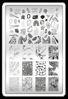 Пластина для стемпинга TAKIDA 25 'Текстуры'