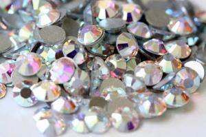 Мини-набор страз Crystal AB ss8, 36шт