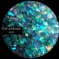 SOTA TOP AVRORA Sea, глянцевый топ с шиммером, 5 мл