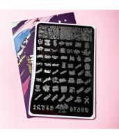 Пластина для стемпинга Klio XL-063
