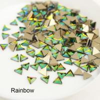 Стразы Треугольники-малыши 3х3 мм Rainbow Nailstraz, (набор 5шт)