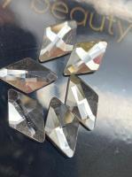 Стразы Пирамида 6х10 мм Crystal Nailstraz, (1шт)