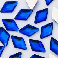 Стразы Ромбики-малыши 3х5 мм Cobalt Nailstraz, (набор 5шт)