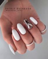 Гель-лак Луссо Премиум белый Lusso Premium white, 8 мл