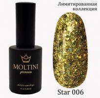 Гель-лак Star Premium №006 Moltini, 15ml