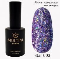 Гель-лак Star Premium №003 Moltini, 15ml