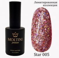 Гель-лак Star Premium №005 Moltini, 15ml