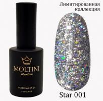 Гель-лак Star Premium №001 Moltini, 15ml