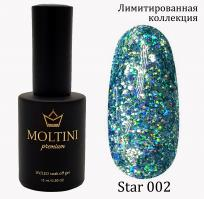 Гель-лак Star Premium №002 Moltini, 15ml