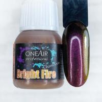 Краска для аэрографии Хамелеон Bright fire (Брайт файр) OneAir, 6 мл