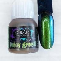 Краска для аэрографии Хамелеон Juicy green (Джуси грин) OneAir, 6 мл