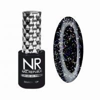 Топ с шиммером глянцевый Diamond Top 06 Gloss Nail Republic, 10 мл