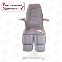 Педикюрное кресло ФУТПРОФИ-3, 3 электропривода, с проводным пультом дистанционного управления
