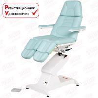 Педикюрное кресло ФУТПРОФИ-1, 1 электропривод, с ножной педалью управления