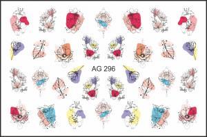 Слайдер-дизайн (имитация аэрографии) AG 296 FreeDecor